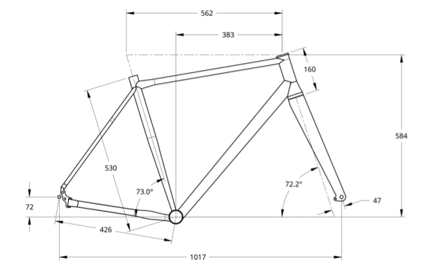 Geometry drawing for X3