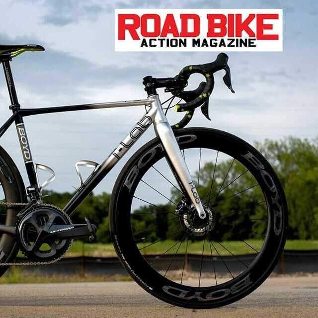Our new BOYD x T-Lab collaboration gets mention in Road Bike Action.